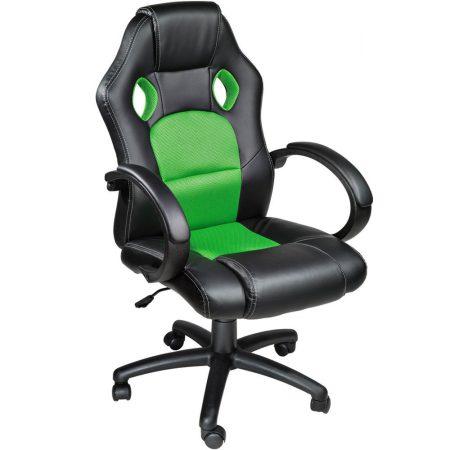 Herní židle BASIC zelená