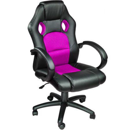 Herní židle BASIC- růžová