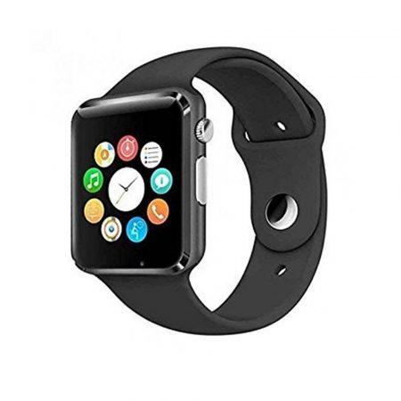 AlphaOne A1 smart hodinky, černá barva