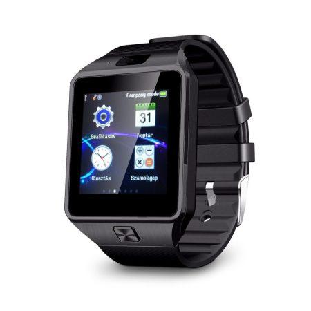 AlphaOne DZ inteligetní hodinky , černé