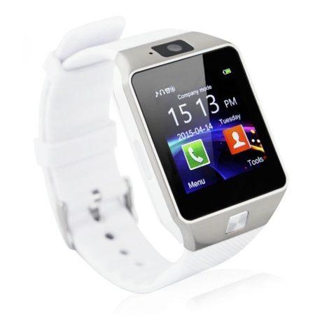 AlphaOne DZ Inteligentní hodinky, bílé