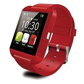 Pro Watch Smart hodinky červené holm0184