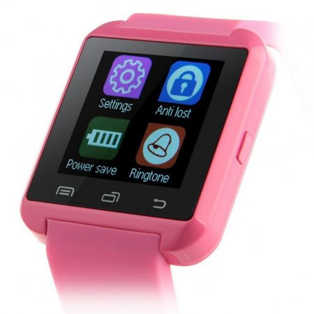 Smart hodinky Pro Watch růžové holm0189
