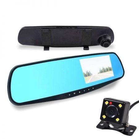 ALphaOne Integrovaná kamera do spätného zrkadla a cúvacia kamera
