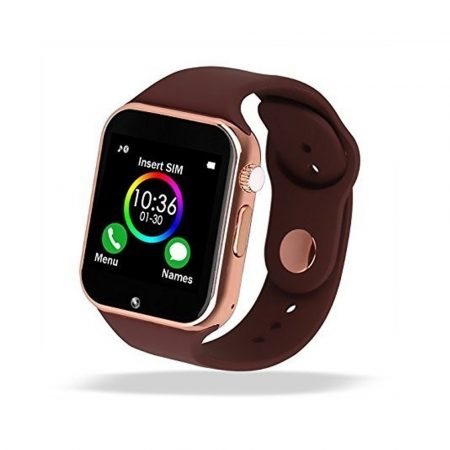 AlphaOne A1 smart hodinky, zlatá barva