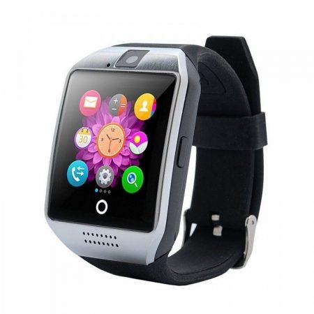 AlphaOne SmartWatch Q18 zakřivená obrazovka, Silver Black
