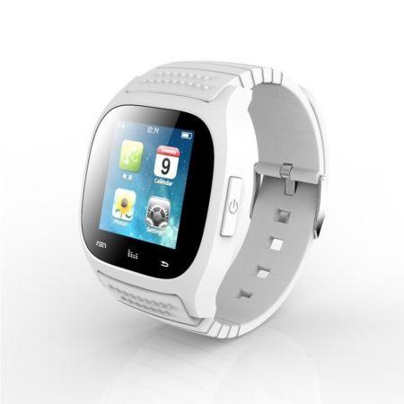 AlphaOne M26 smart hodinky,bílé