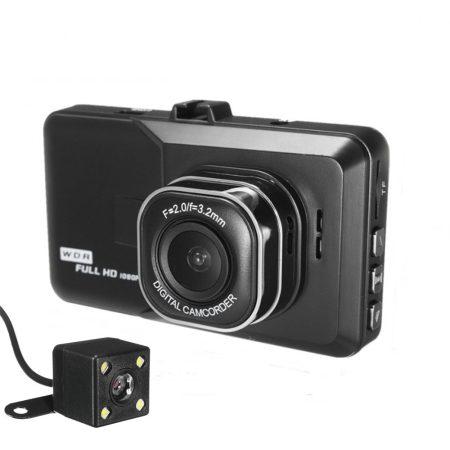 BlackBox palubní a couvací kamera do auta