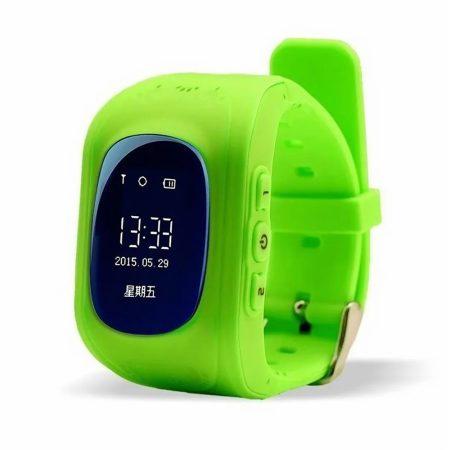 Bass q50 kid smart hodinky, zelené