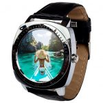 Chytré hodinky AlphaOne X3 ve stříbrném