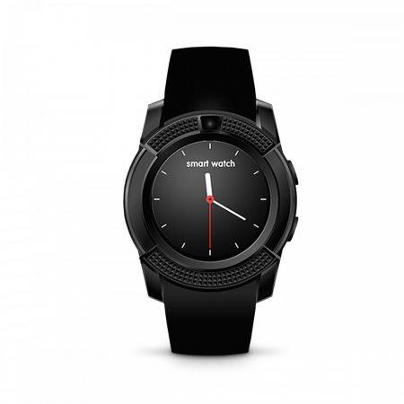 Bass V8 smart hodinky, černé