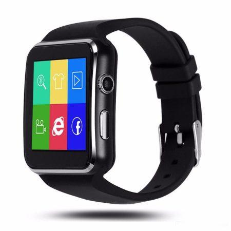 AlphaOne X6 smart hodinky, černé