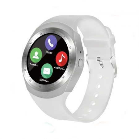 AlphaOne Y1 smart hodinky, bílé