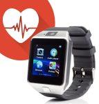 AlphaOne M8 premium smart hodinky, stříbrná-černá barva