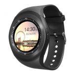 AlphaOne Y1 smart hodinky, černé