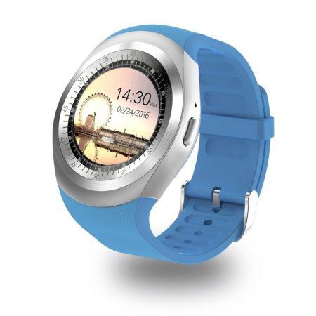 AlphaOne Y1 smart hodinky, modré