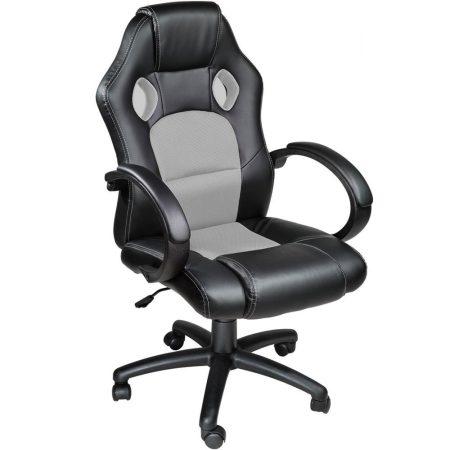 Herní židle BASIC sivá