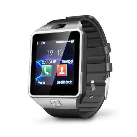 AlphaOne DZ šedé-černé smart hodinky,