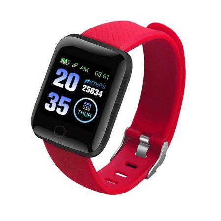 ID116 Plus Inteligentní hodinky Červené