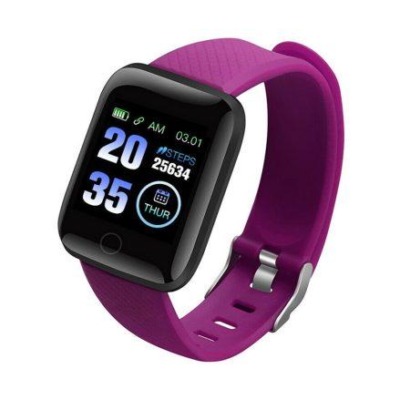 ID116 Plus Inteligentní hodinky Fialové