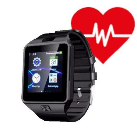 AlphaOne M8 Premium čierné smart hodinky s meračom srdcového tepu