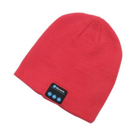 Čepice Bluetooth, červena