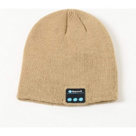 Čepice Bluetooth, hnědá