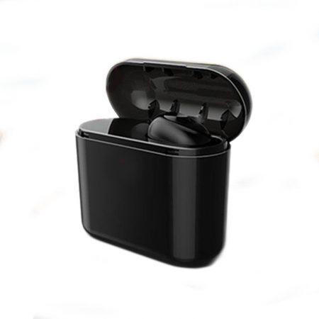 Černé Plugg sluchátko + Dárek 700mAh Powerbank !!