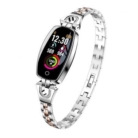 Luxardo Dámske Inteligentní hodinky, stříbrné