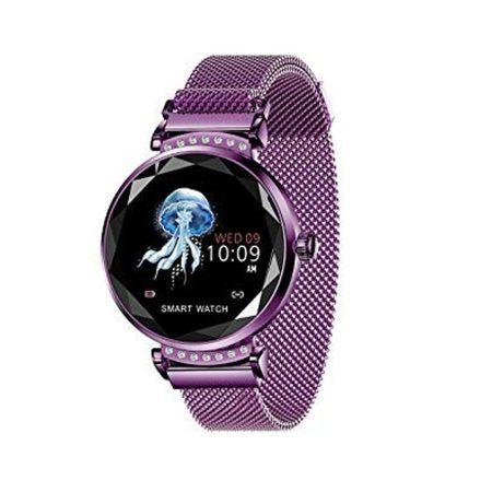 Anette signiture Inteligentní hodinky, fialové