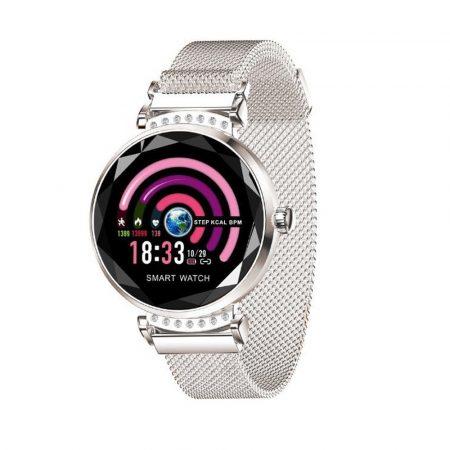 Anette Signiture Inteligentní hodinky, stříbrné