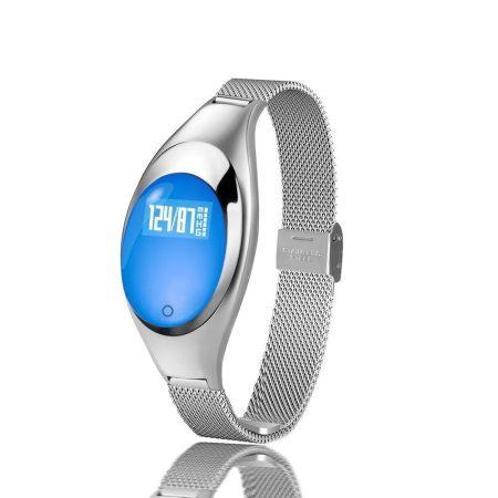Christina Inteligentní hodinky, stříbrné * Opravdu ženské hodinky s tenkým kovovým páskem *