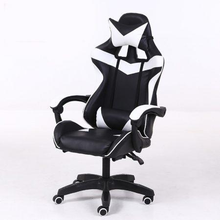 RACSING PRO X Herní židle  bílo a černá barva