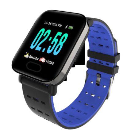 Mike watch A6 Modré Inteligentní hodinky