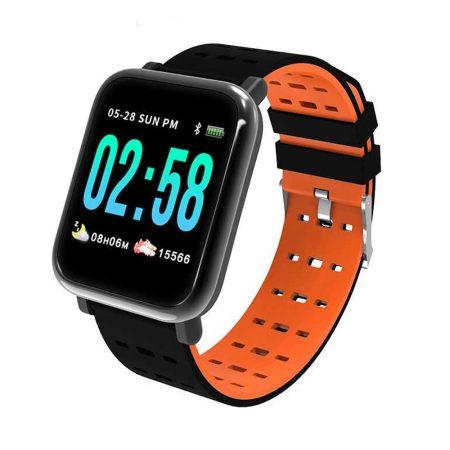Mike watch A6 Oranžové Inteligentní hodinky