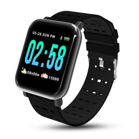 Mike Watch A6 Černé Inteligentní hodinky