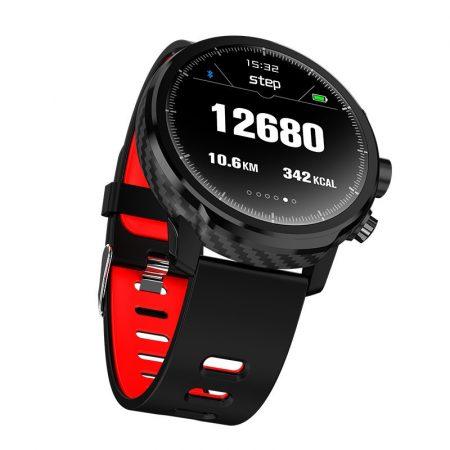 AlphaOne L5 červené Inteligentné hodinky