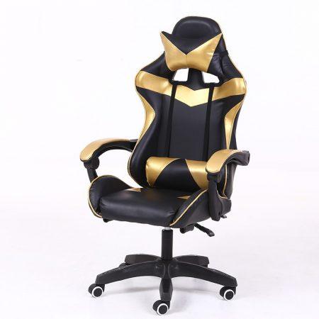 RACSING PRO X Herní židle  zlatá-černá barva