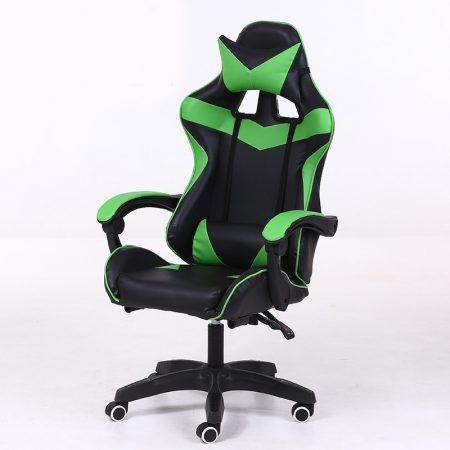 RACSING PRO X Herní židle  Zelená-černá barva