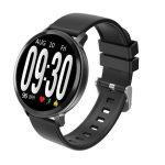 S8 černé inteligentní hodinky