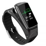 B7 Inteligentní hodinky + sluchátka černé