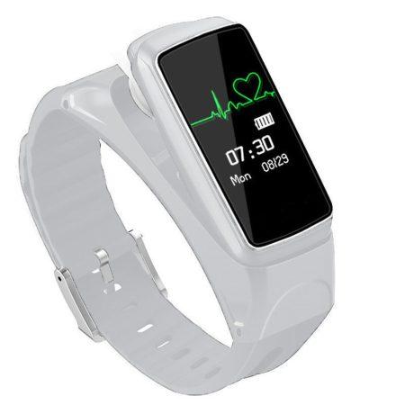 B7 Inteligentní hodinky + sluchátka bílé