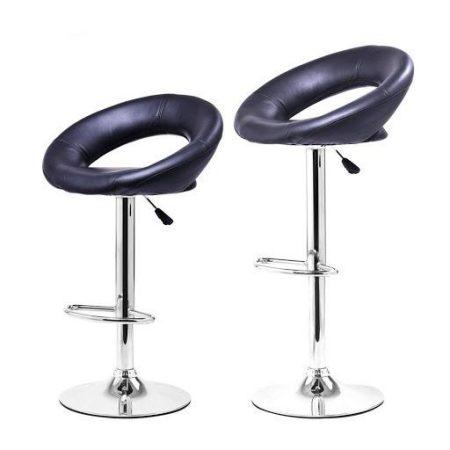 Barová židle set černá