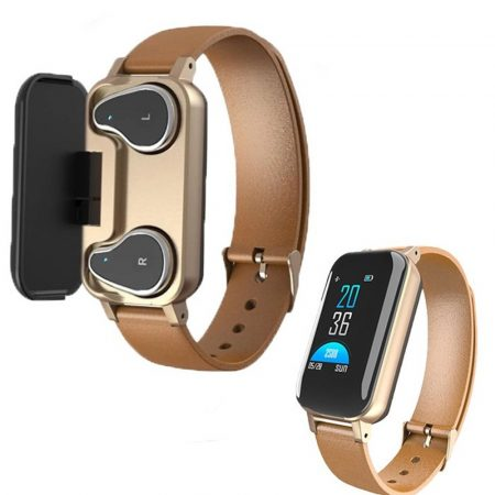 T89 inteligetní hodinky - zlaté