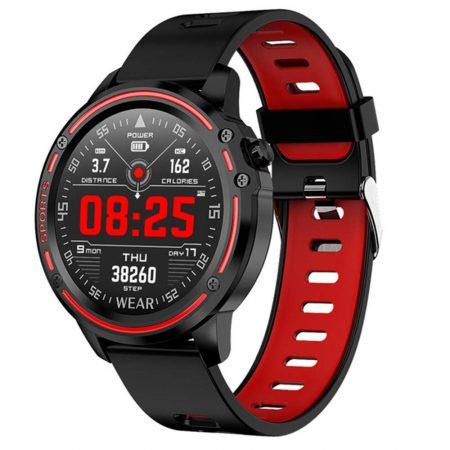 L8 Red Smartwatch-Hodinky