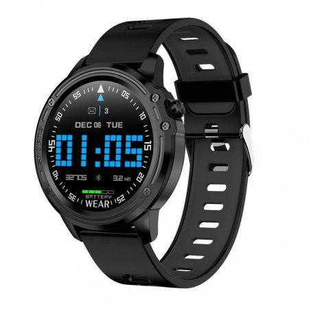 L8 Black Smartwatch-Hodinky
