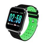 Mike Watch A6 Inteligentní hodinky zelený