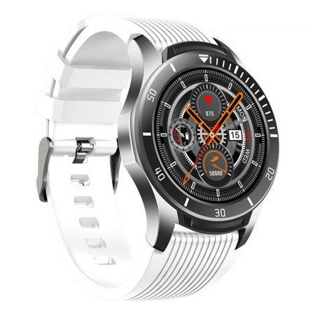GT106 smartwatch v bílé barvě