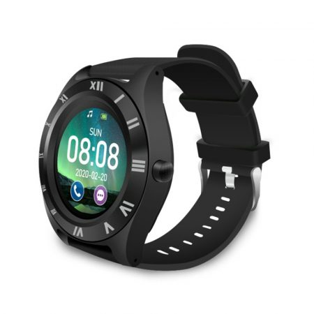 M11  chytré hodinky s černým páskem