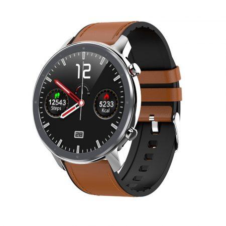 Chytré hodinky L11 SLIM - stříbrné